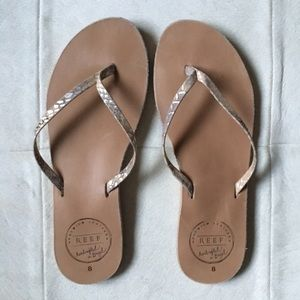 🆕 Listing!  Reef | Leather Flip Flops